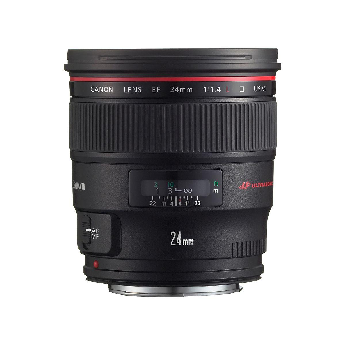 Objectif pour Reflex Plein Format CANON EF 24mm f/1.4 L II USM