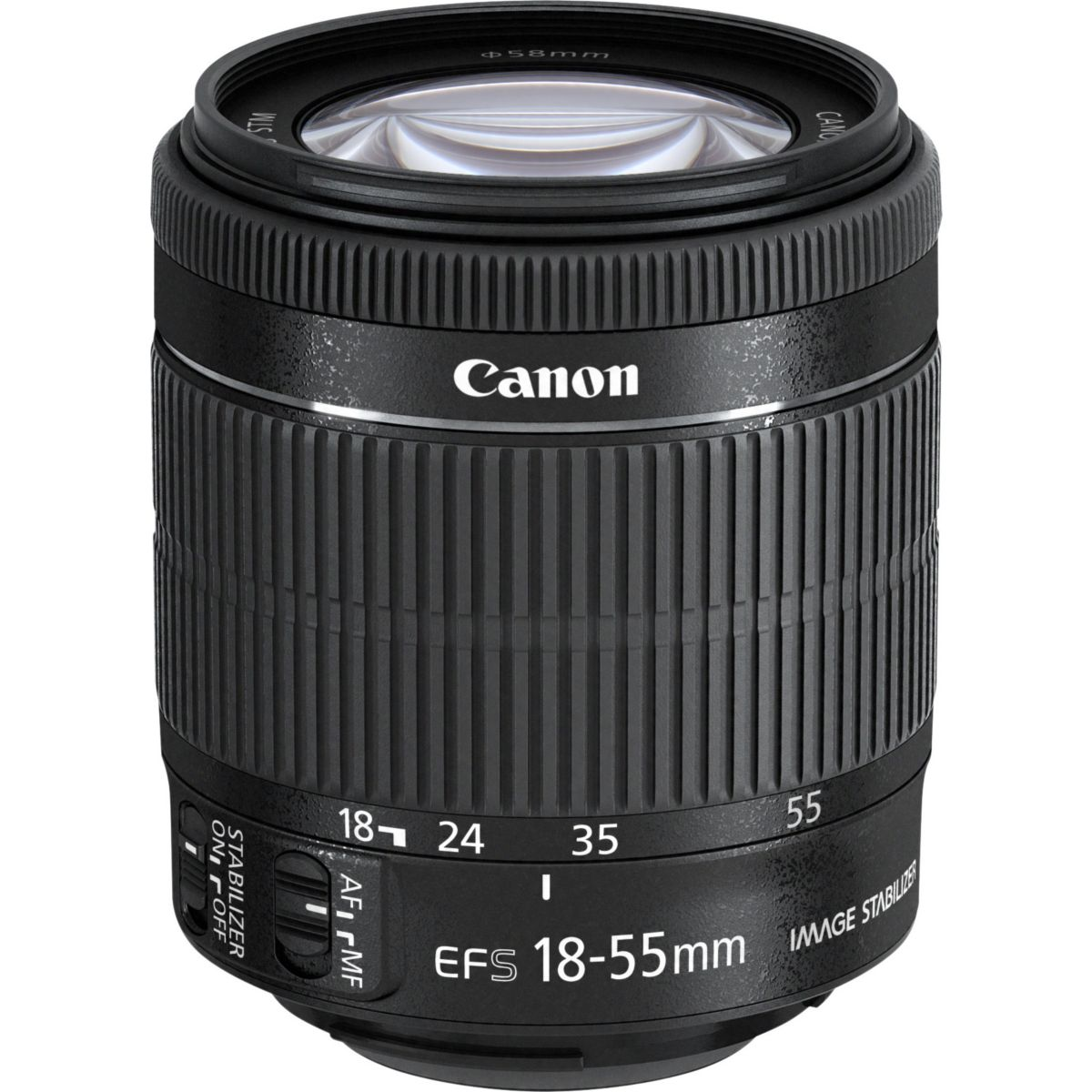 Objectif CANON EF-S 18-55mm IS STM