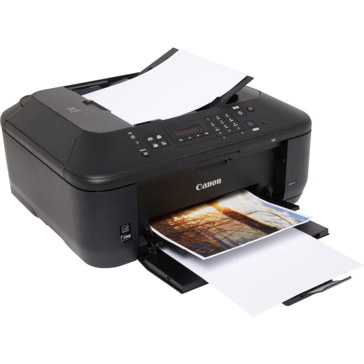 Imprimante jet d'encre CANON MX475 (photo)