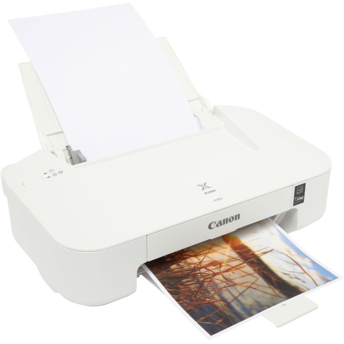 Imprimante monofonction jet d'encre CANON IP2850 (photo)