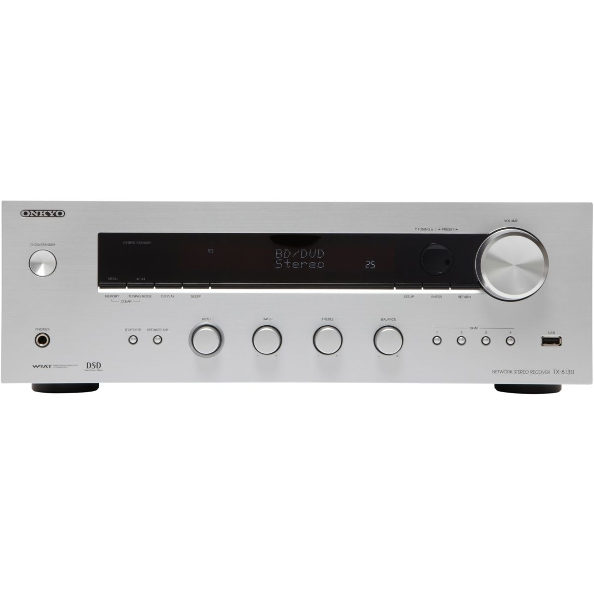 Amplificateur Hi-Fi ONKYO TX8130 SILVER