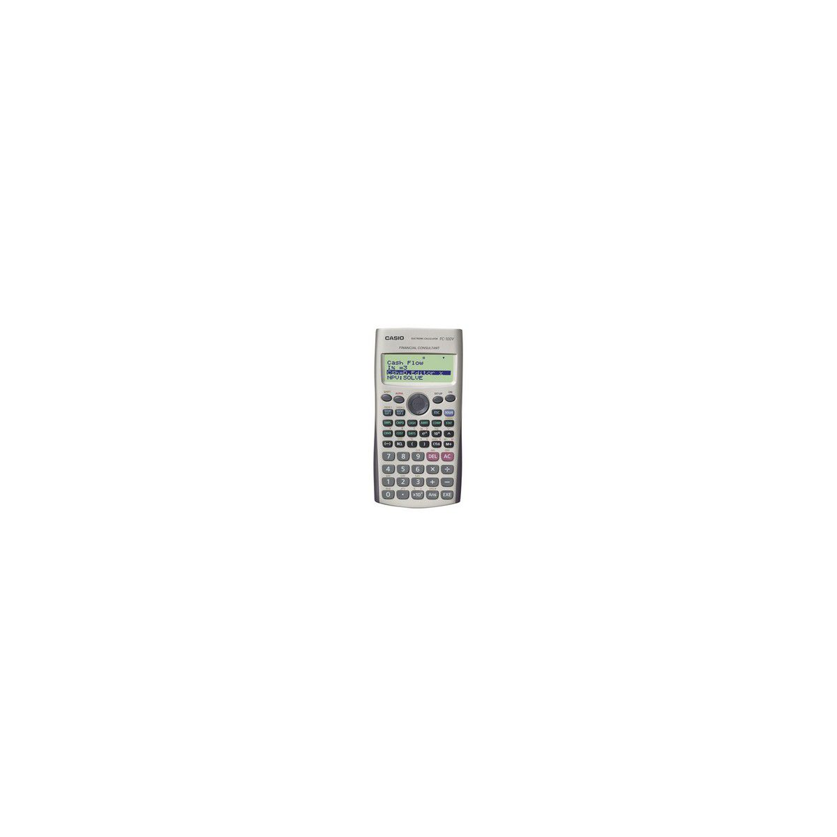 Calculatrice financière CASIO FC 100V (photo)