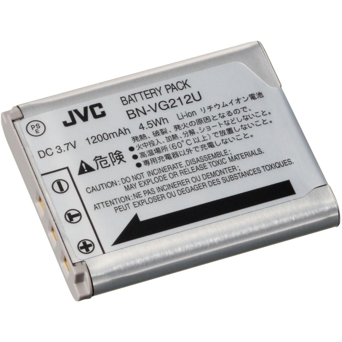 Batterie camescope JVC BN-VG212EU (photo)