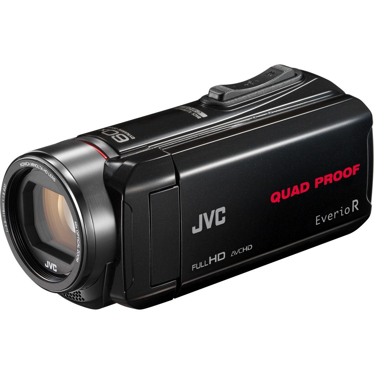 Caméscope JVC GZ-R435 Noir