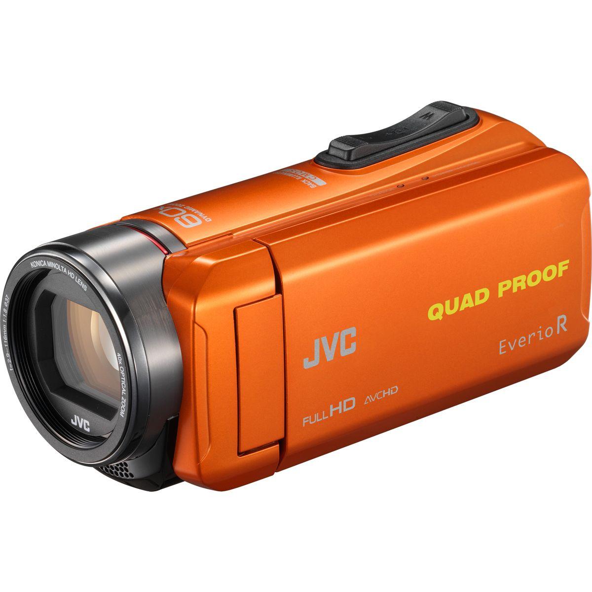 Caméscope JVC GZ-R435 Orange