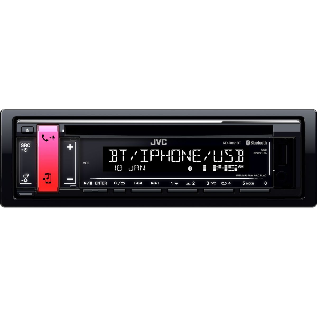 Autoradio CD JVC KD-R891BT (photo)