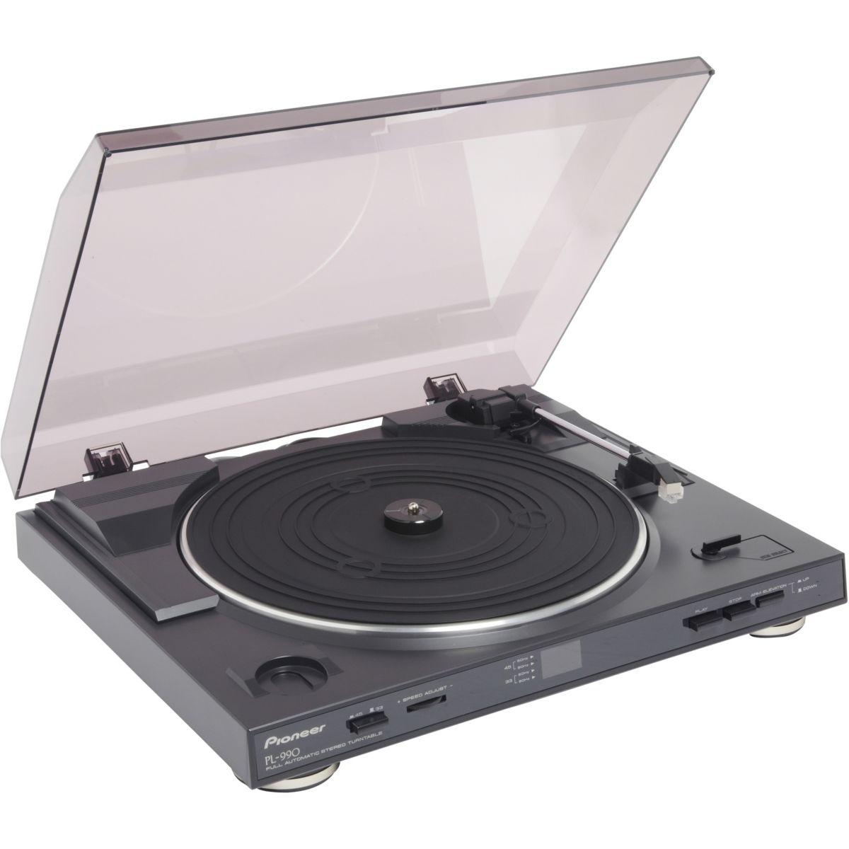 Platine vinyle PIONEER PL990 Noir