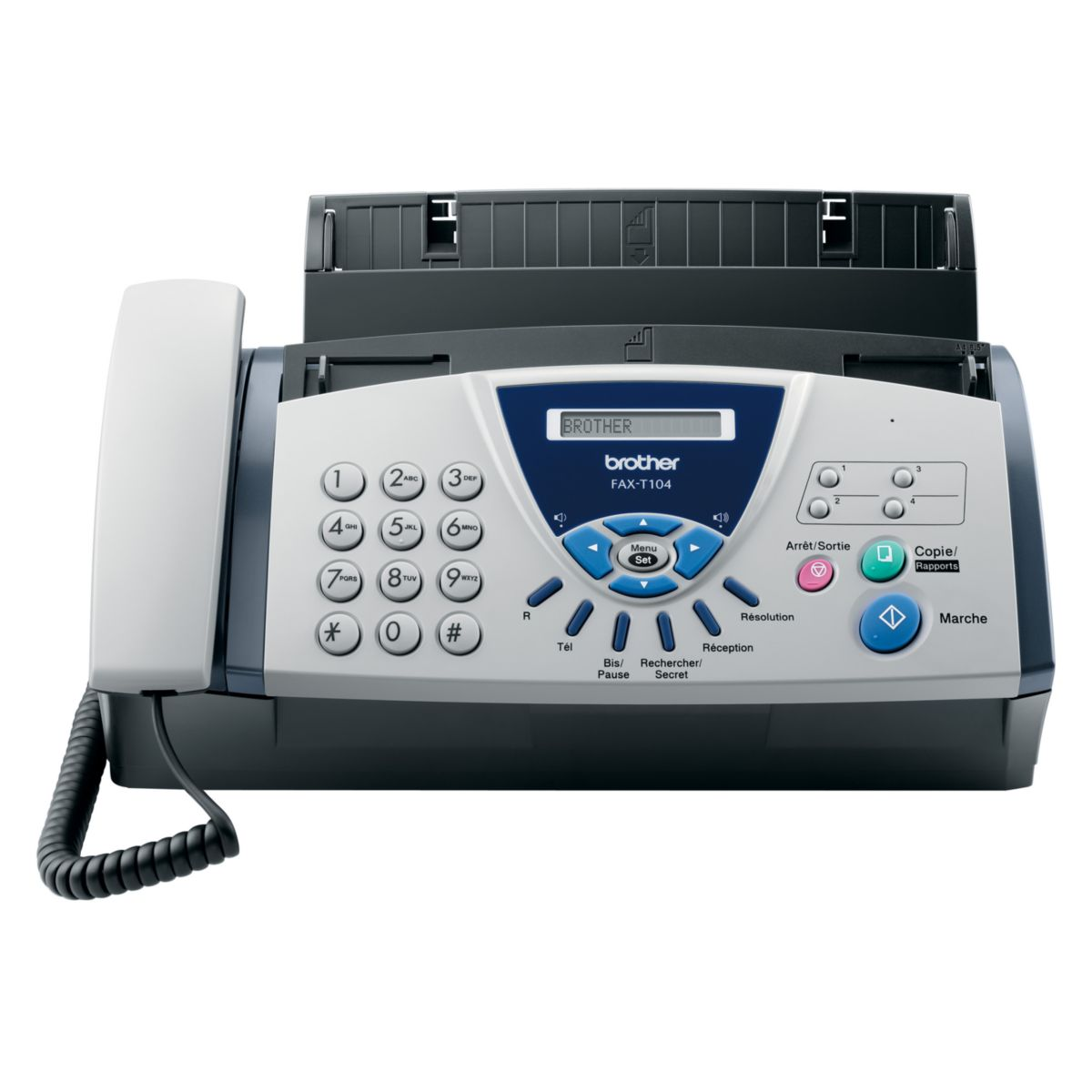 Fax BROTHER FAX T-104