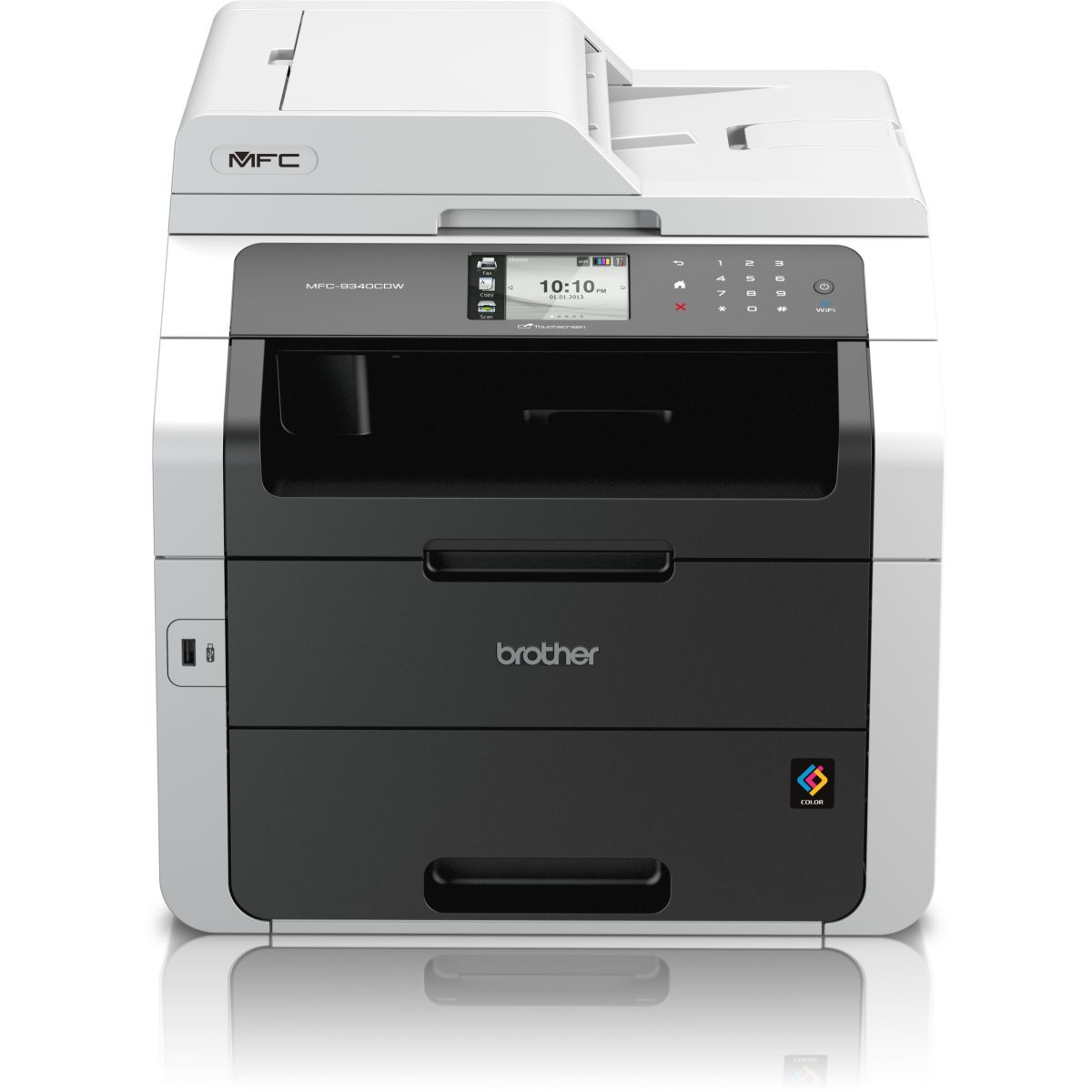 Imprimante multifonction laser couleur BROTHER MFC-9340CDW (photo)