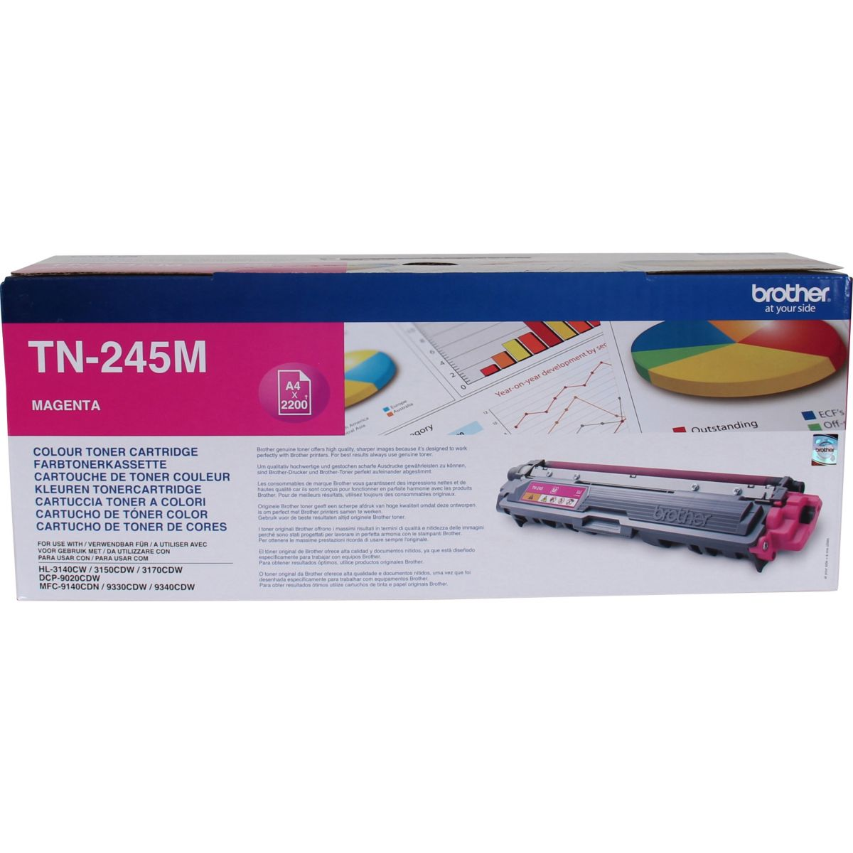Cartouche Toner BROTHER TN245 Magenta XL