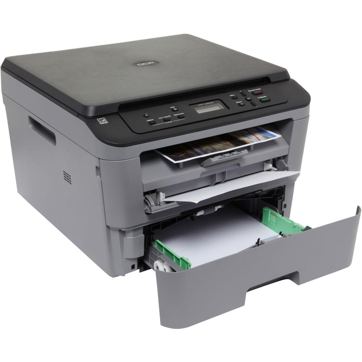 Imprimante multifonction laser monochrome BROTHER DCP-L2500D (photo)