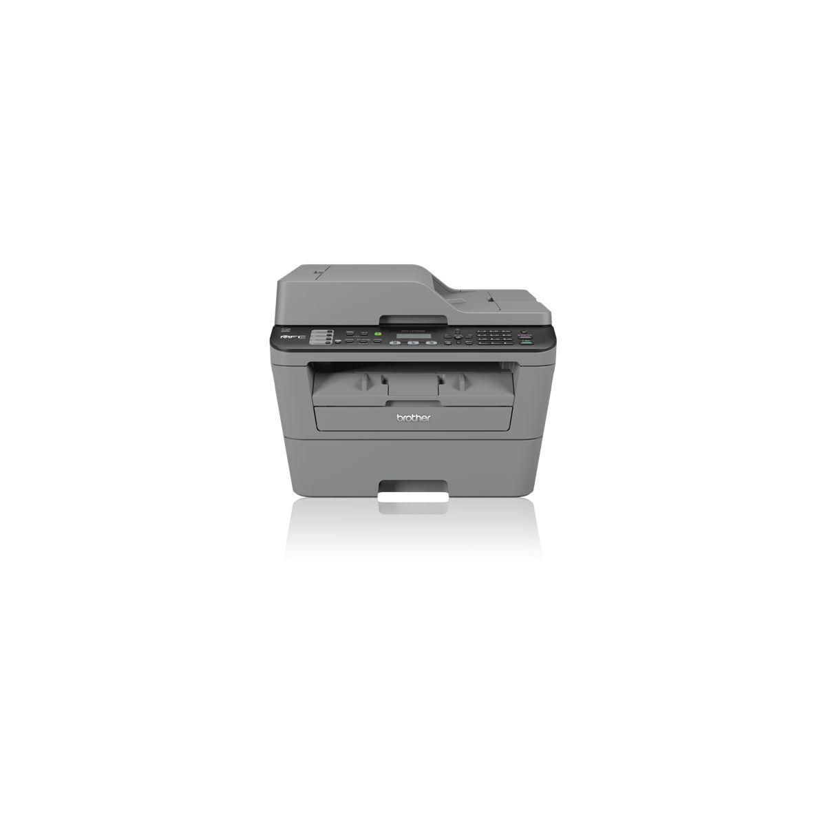 Imprimante multifonction laser monochrome BROTHER MFC-L2700DW (photo)