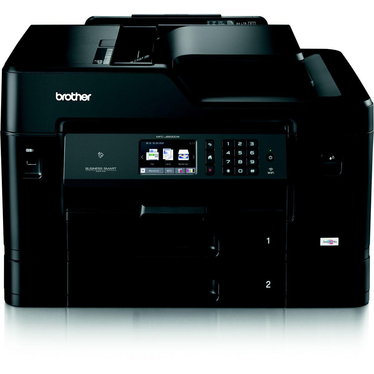 Imprimante multifonction jet encre BROTHER MFC-J6930DW