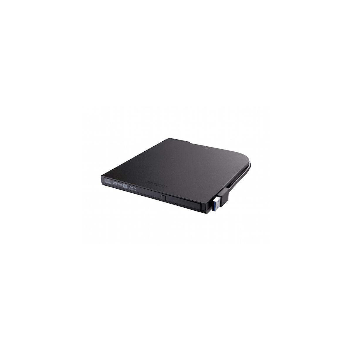 Graveur DVD Externe BUFFALO MediaStation Blue Ray Portable ultraslim (photo)