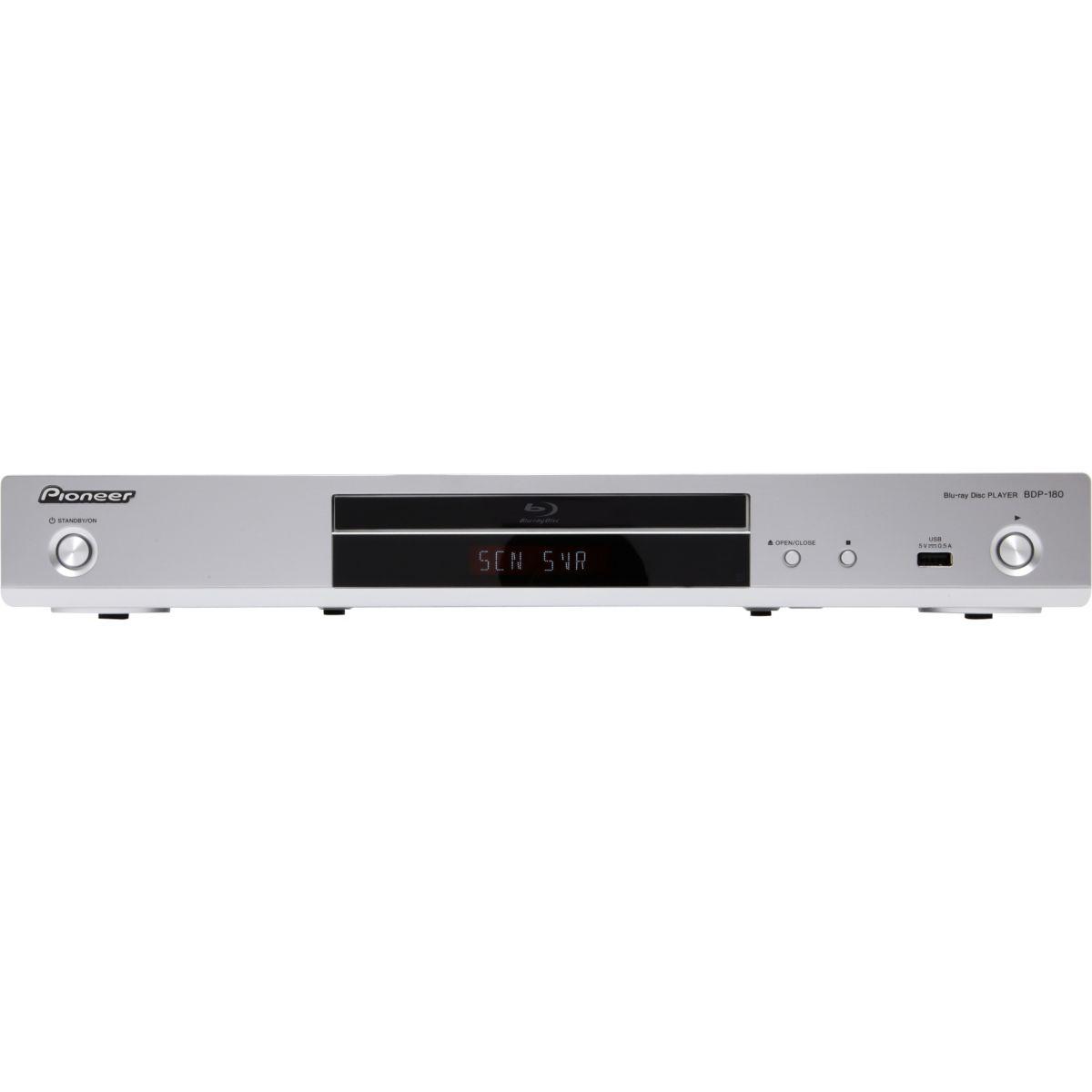 Lecteur Blu-Ray PIONEER BDP180 Silver