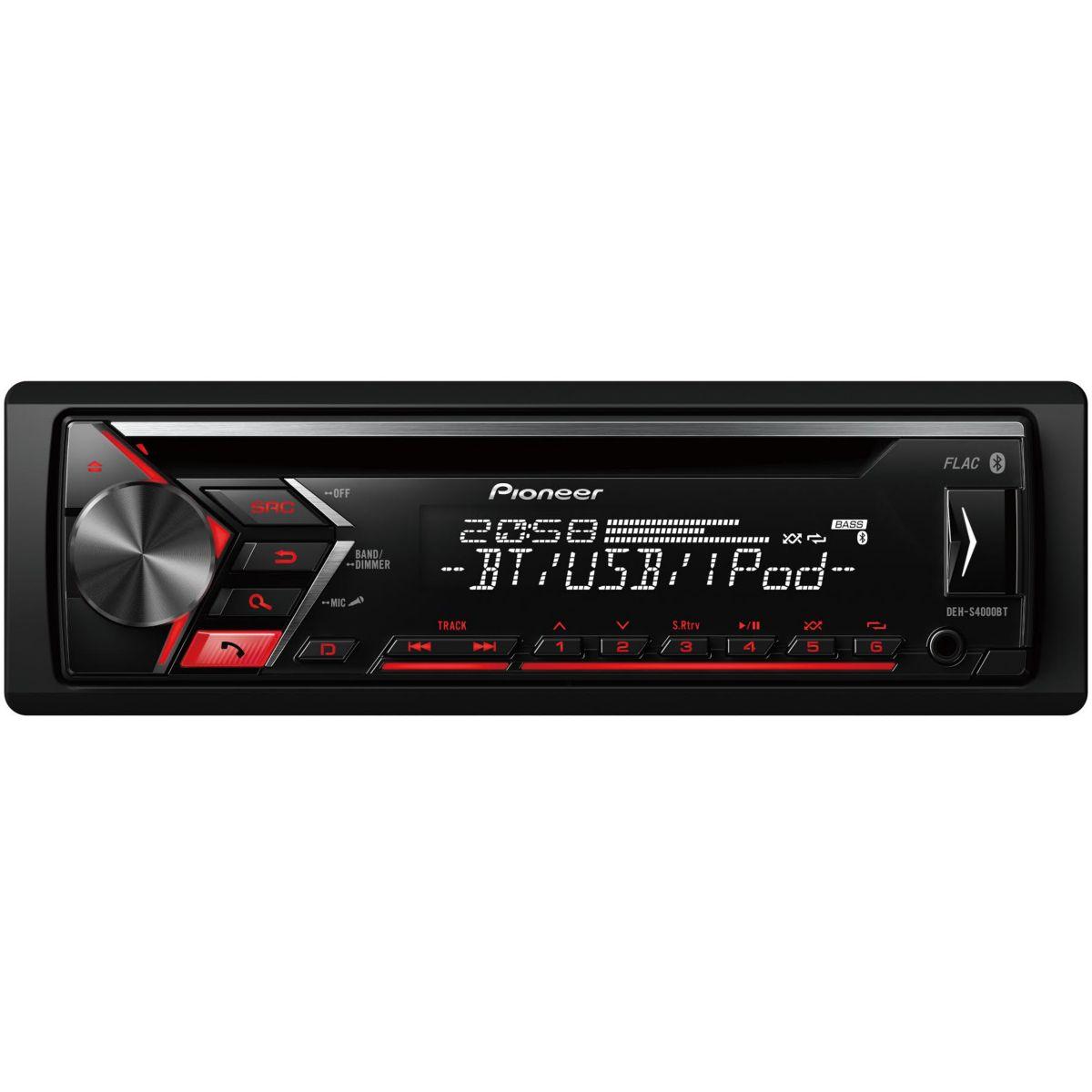 Auto-Radio PIONEER CD USB iPod Bluetooth