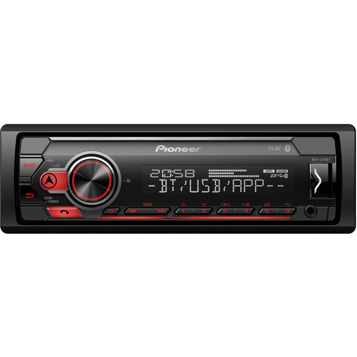 Auto-Radio PIONEER MVH-S410BT - USB iPod Bluetooth