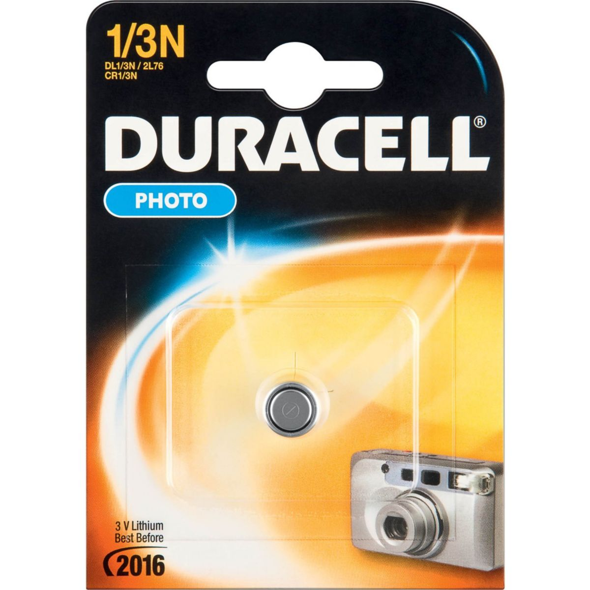 Pile DURACELL DL 1/3 N PHOTO (photo)