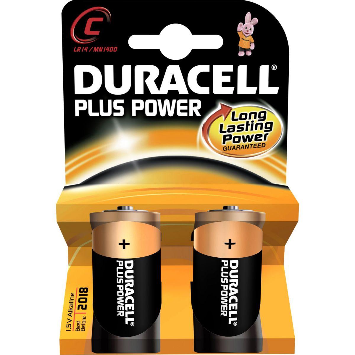 Pile DURACELL LR 14 Plus Power* 2 (photo)