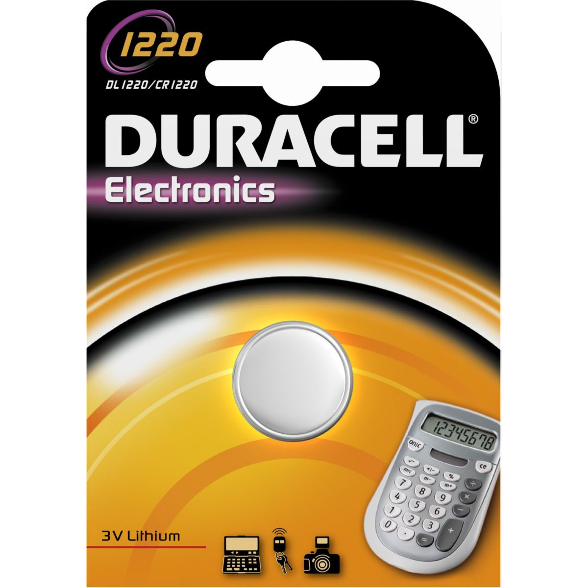 Pile DURACELL SPE 1220 (photo)