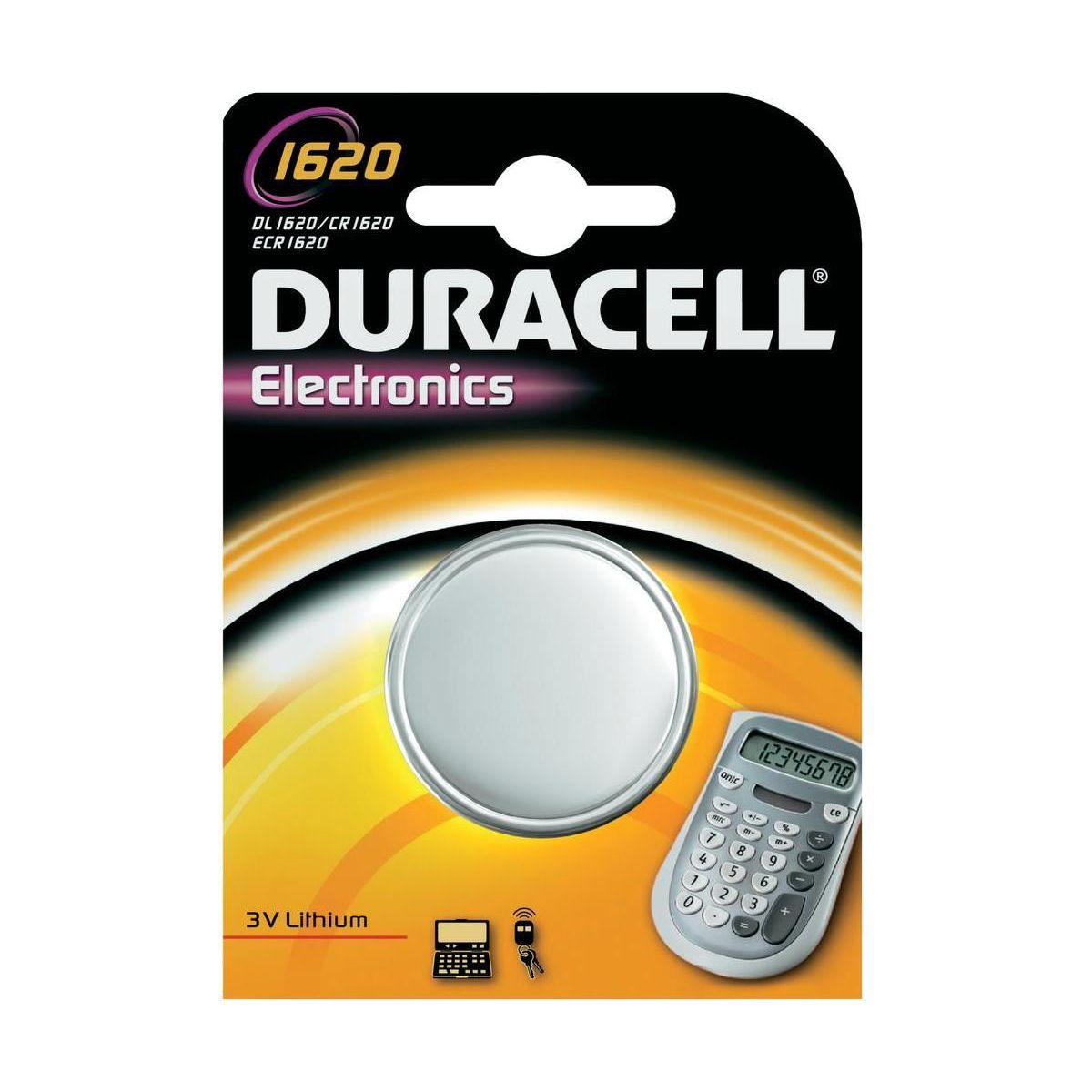 Pile non rechargeable DURACELL 1620 X1 (photo)