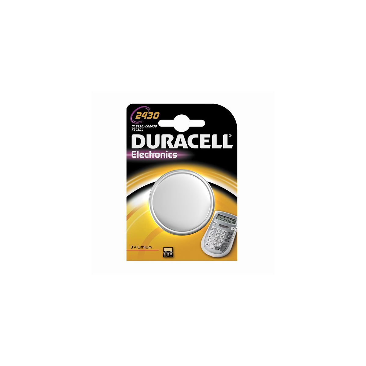 Pile DURACELL DL 2430 (photo)