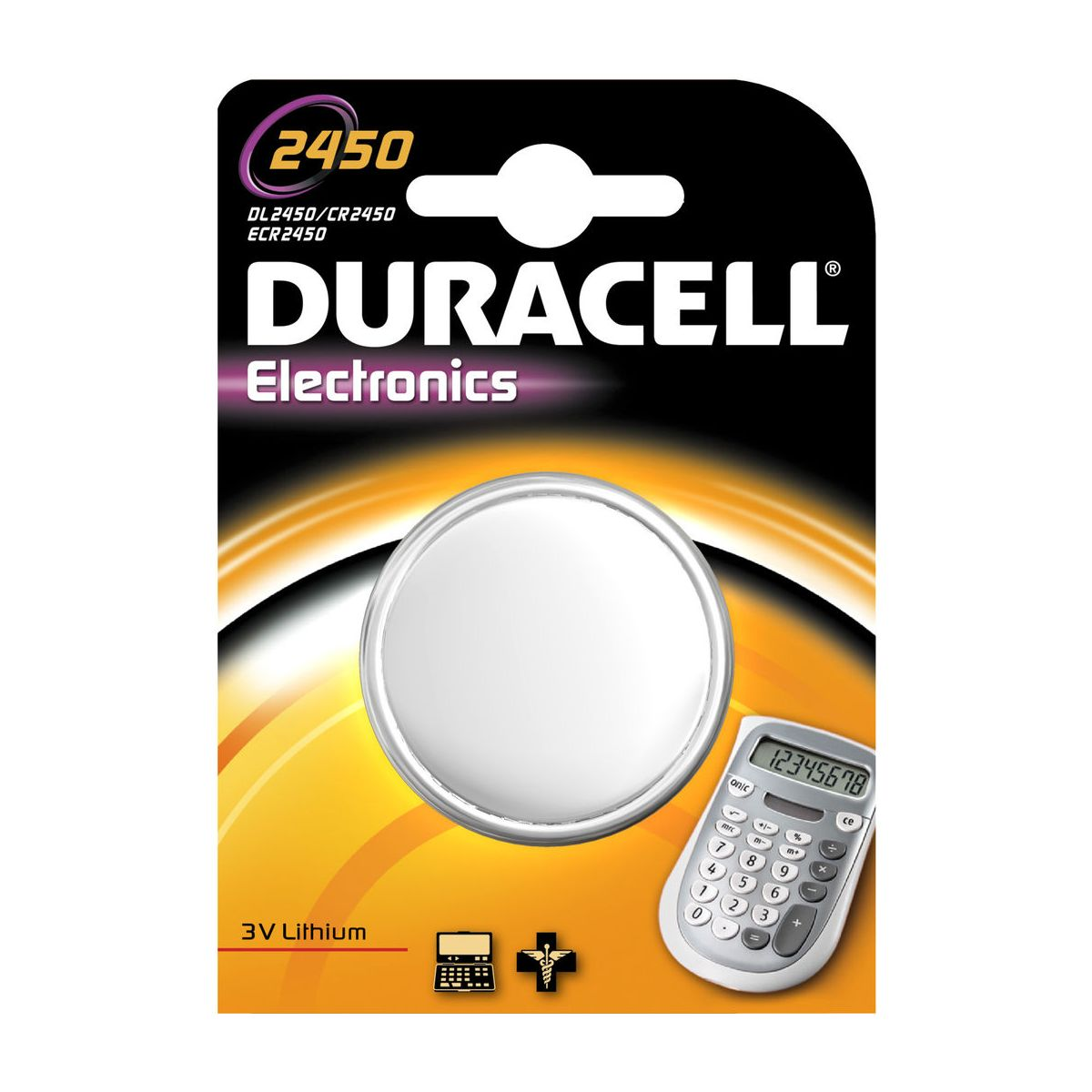 Pile DURACELL SPE 2450 (photo)