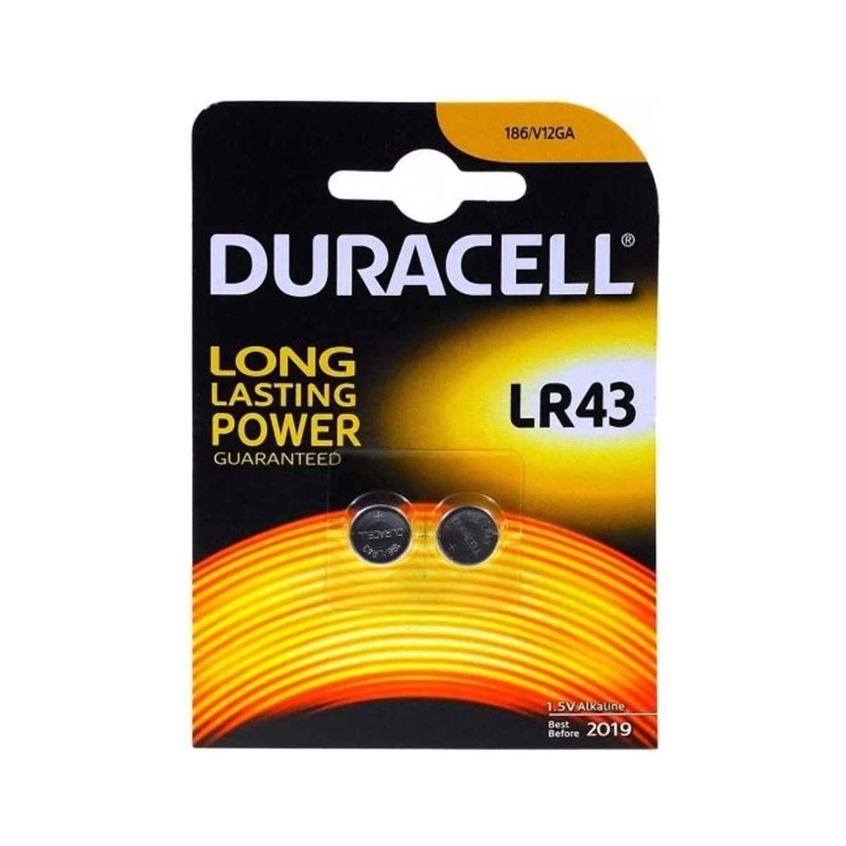 Pile DURACELL ALCALINE SPECIALE LR43 (photo)
