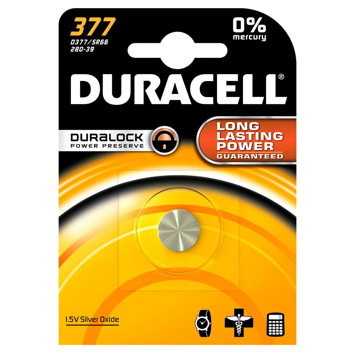 Pile DURACELL SPE 377 (photo)