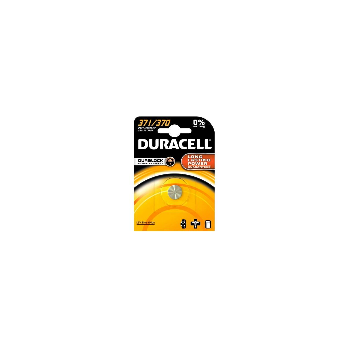 Pile DURACELL 371/370 (photo)
