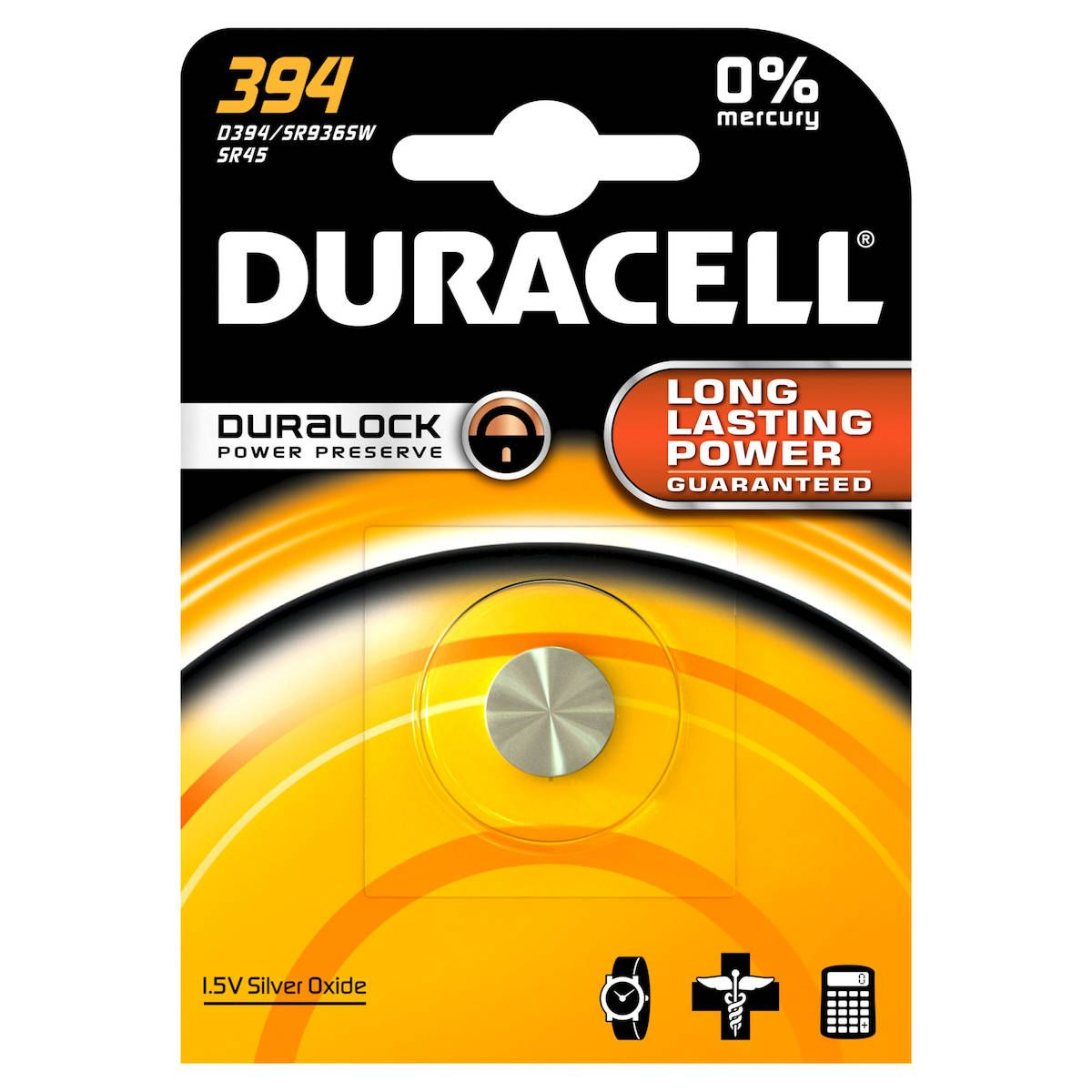 Pile DURACELL 394 (photo)