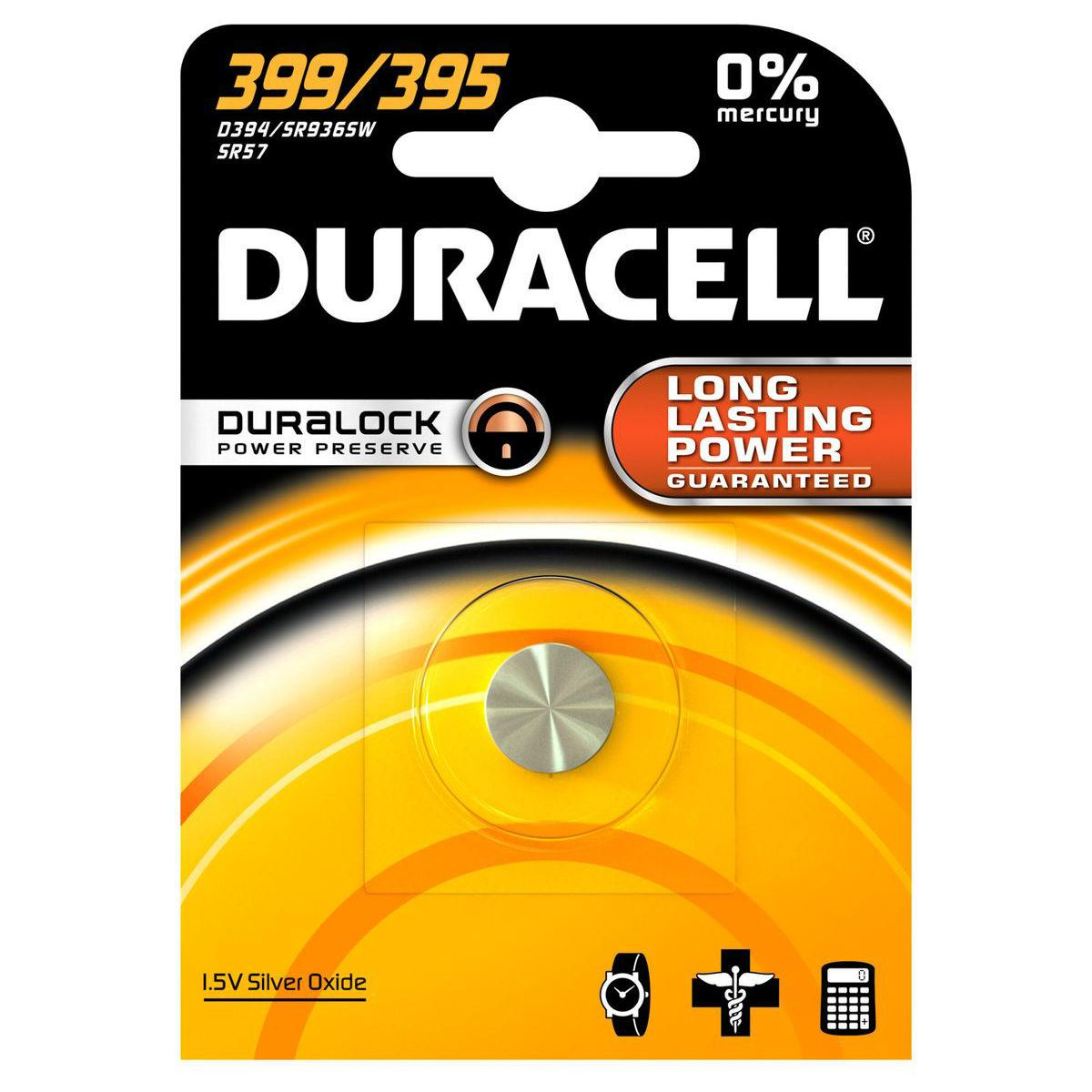 Pile non rechargeable DURACELL 399/395 (photo)