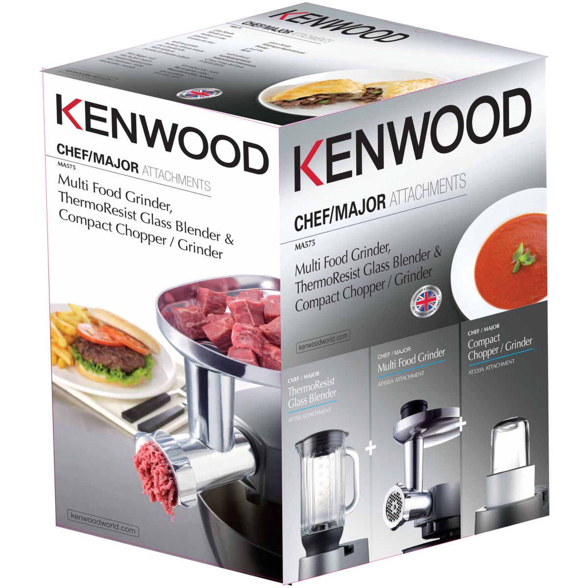 Coffret KENWOOD MA575 KIT AT950 + AT320 + AT358