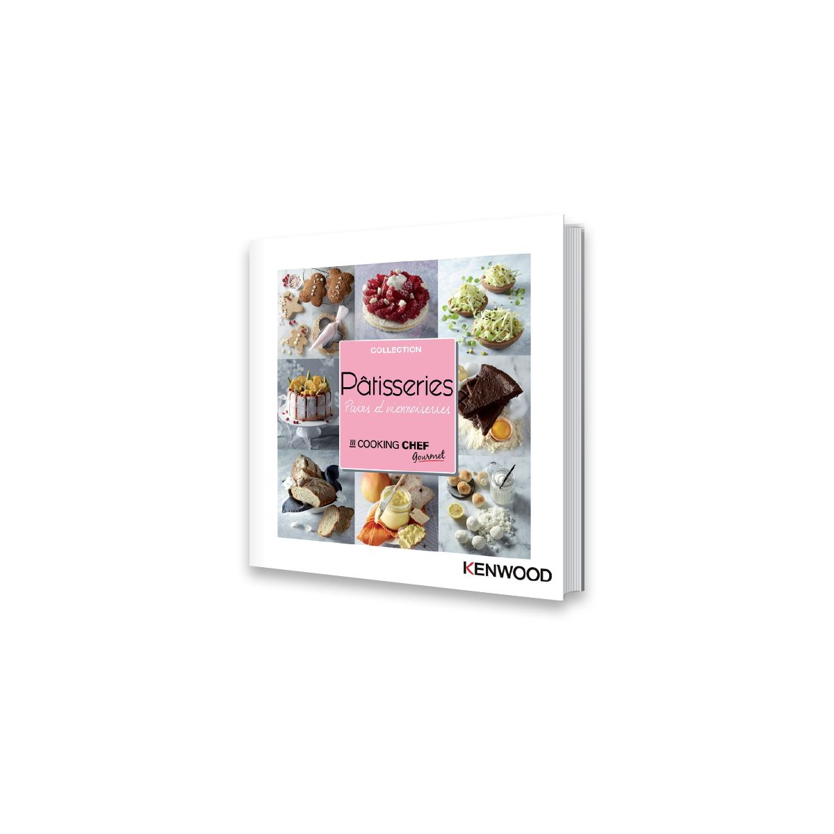 Livre KENWOOD 200 Patisseries /pains /Viennoiseries