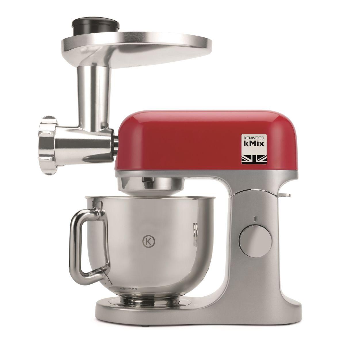 Robot pâtissier KENWOOD KMX855RD Kmix Rouge + Hachoir KAX962ME