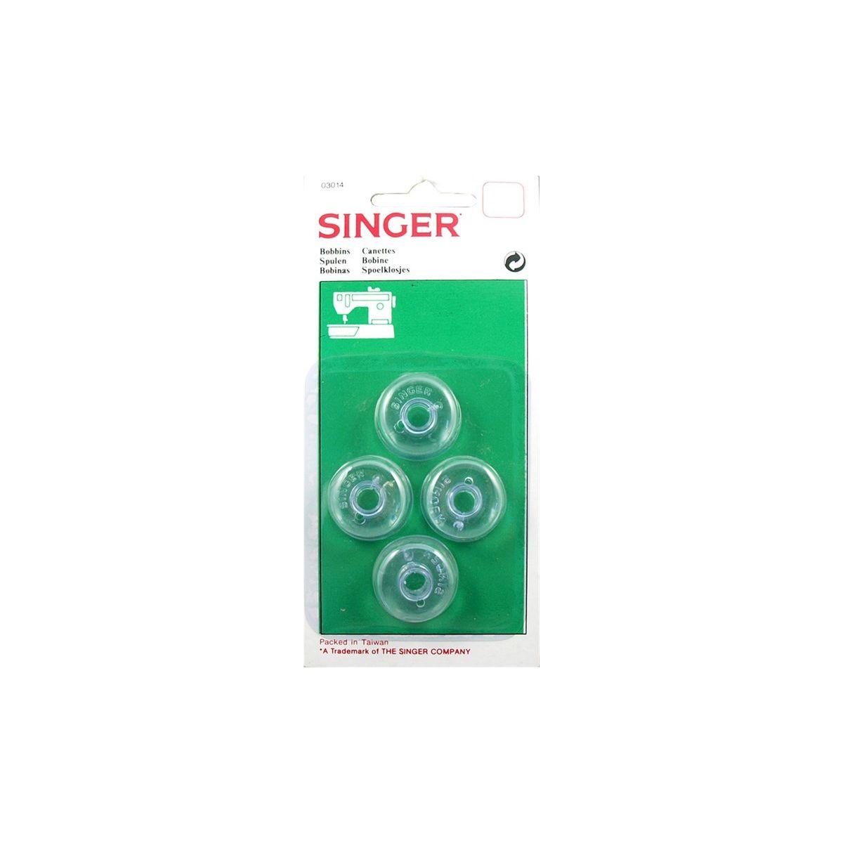 Canettes SINGER Canette basse x4