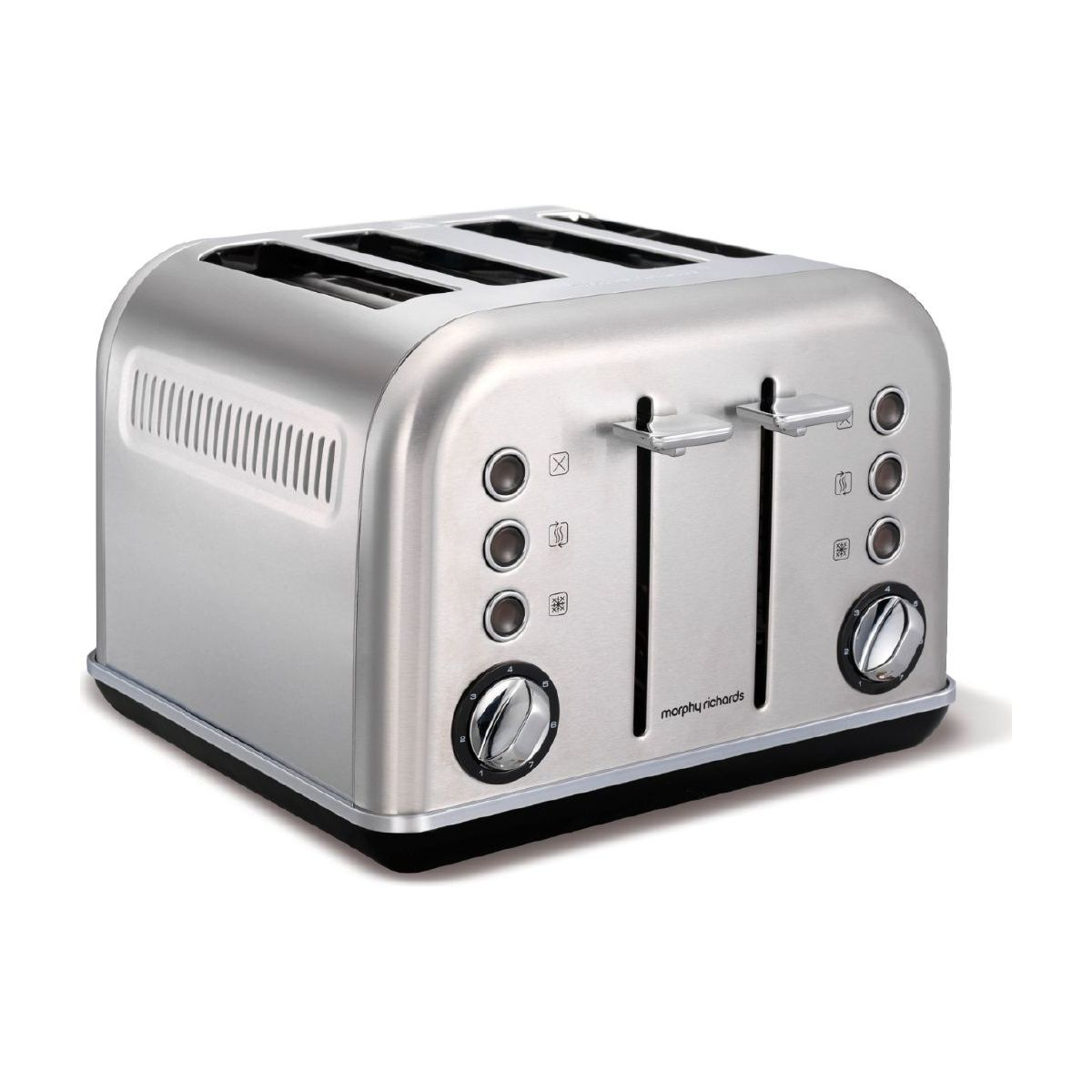Grille-pain MORPHY RICHARDS Accents Refresh 4 tranches Inox