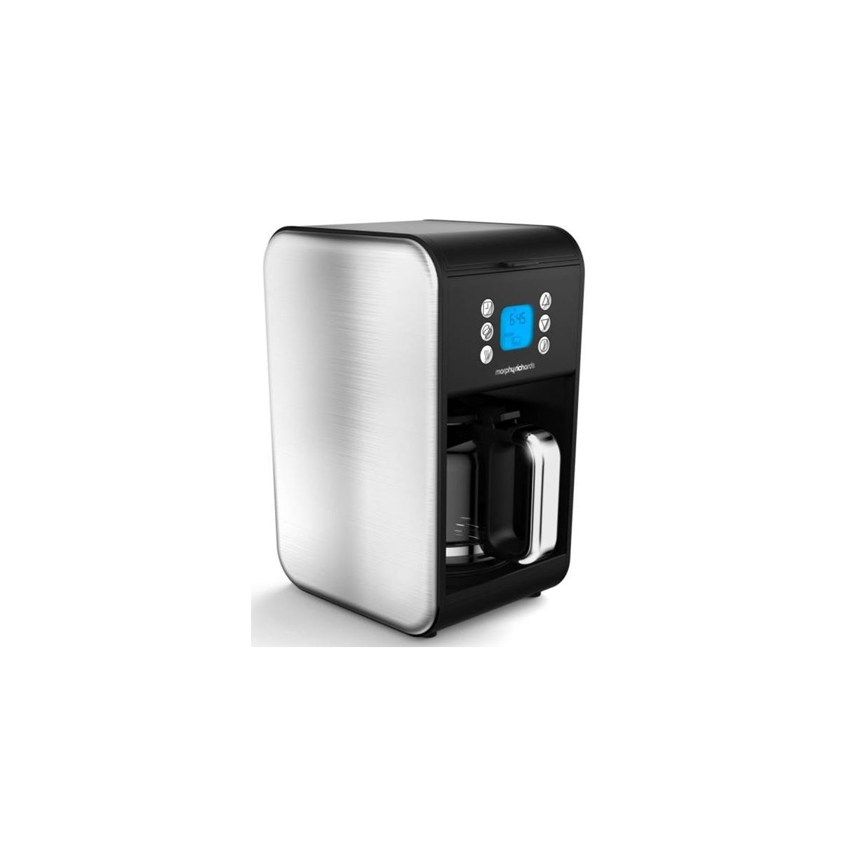 Cafetière programmable MORPHY RICHARDS Accents Refresh Inox