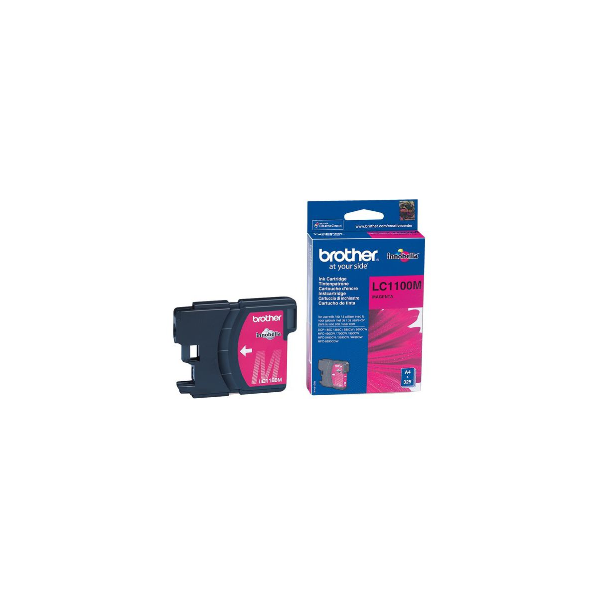Cartouche d'encre BROTHER LC1100 magenta