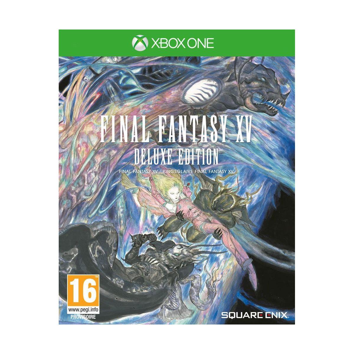 Jeu Xbox One SQUARE ENIX Final Fantasy XV Deluxe Edition
