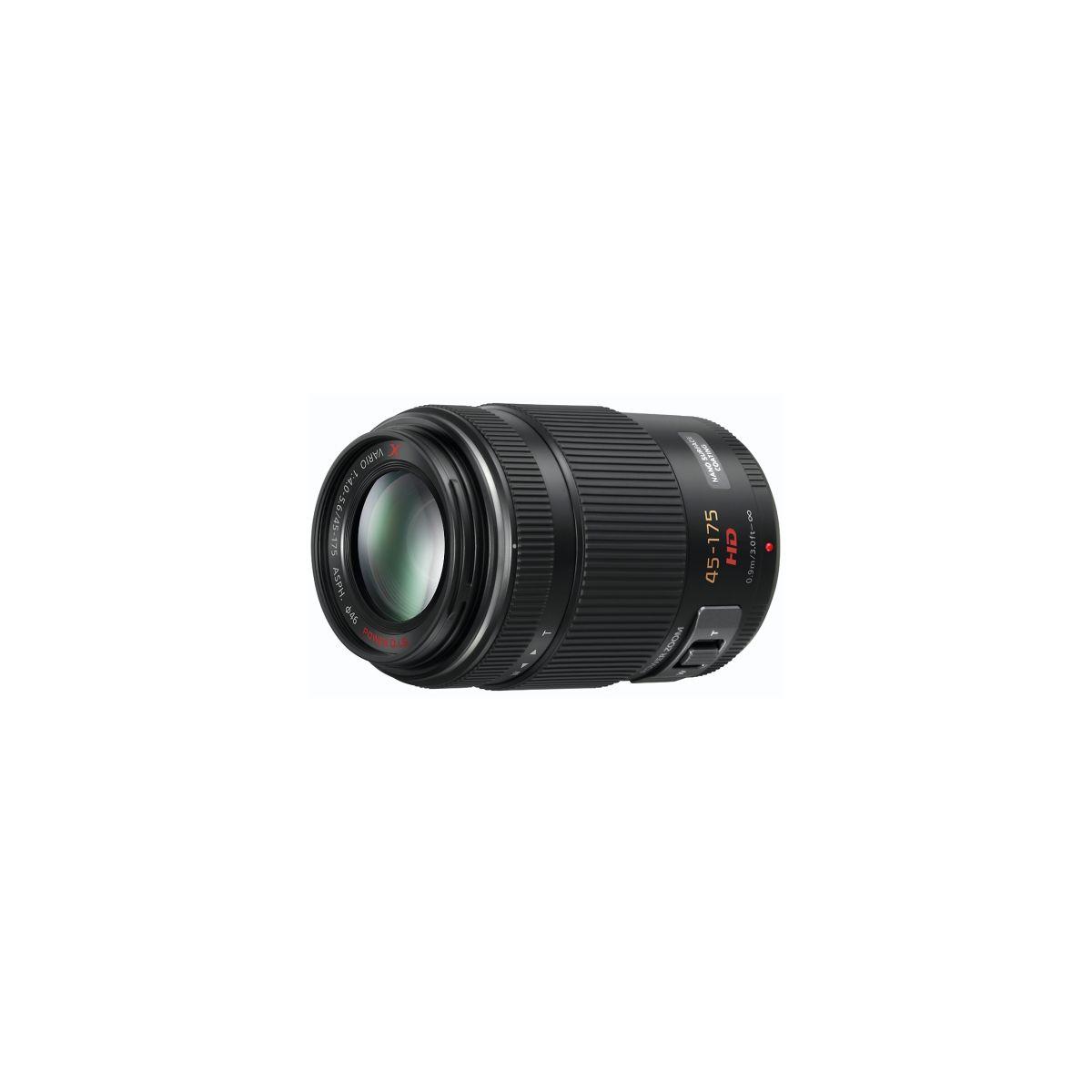 Objectif PANASONIC 45-175 mm f/4.0-5.6 X Powerzoom (pour Hybride numérique PANASONIC)