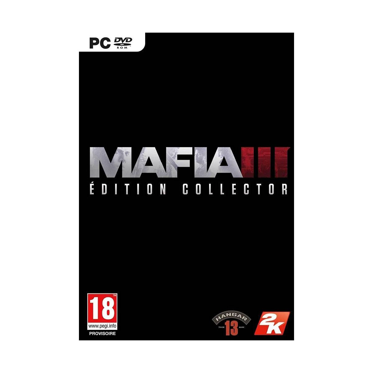 Jeu PC TAKE 2 Mafia 3 Collector