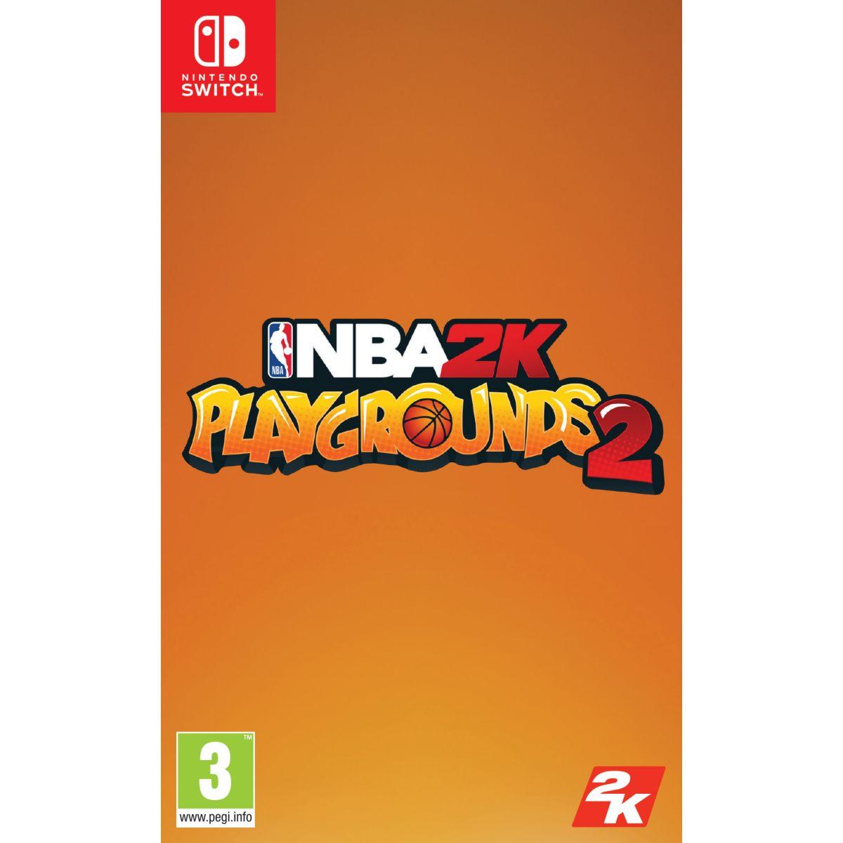 Jeu Switch TAKE 2 NBA 2K Playgrounds 2