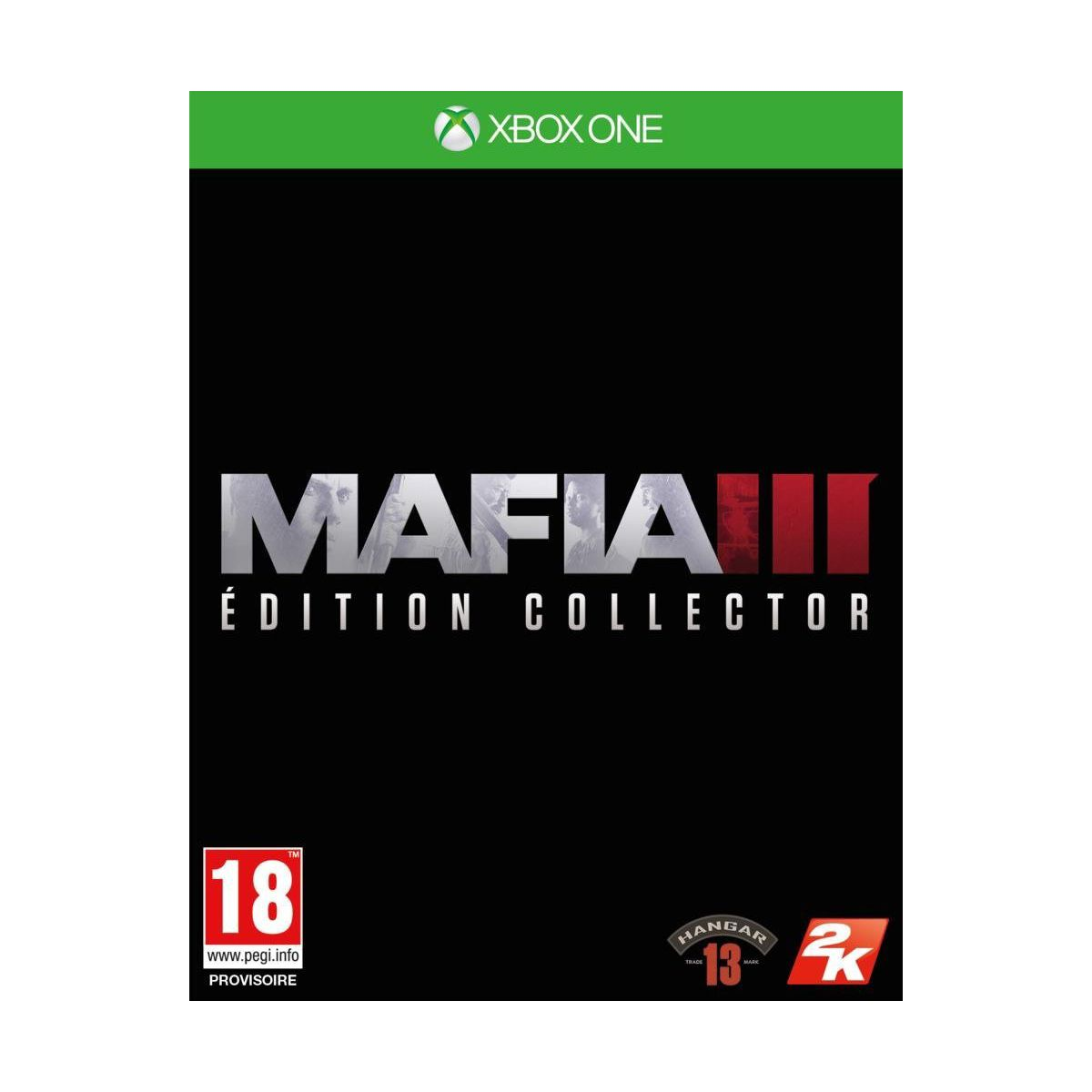 Jeu Xbox One TAKE 2 Mafia 3 Collector