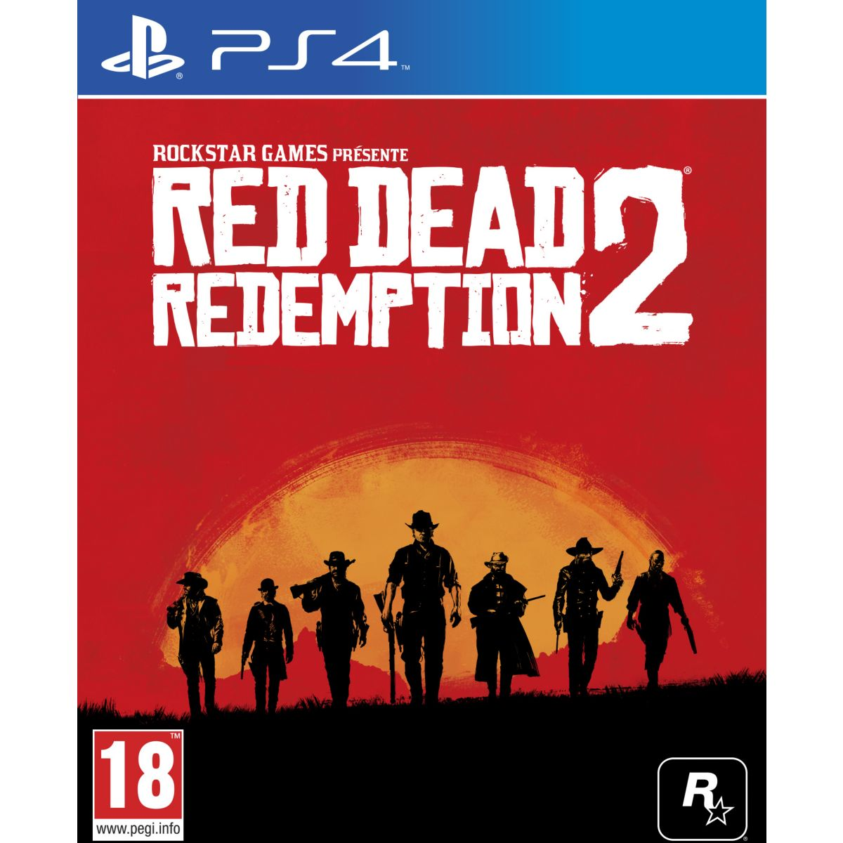 Jeu PS4 ROCKSTAR GAMES Red Dead Redemption 2 (photo)