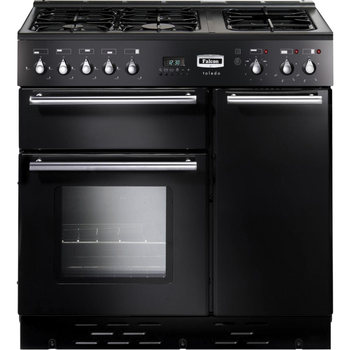 Piano de cuisson mixte FALCON TOL 90 noir brillant