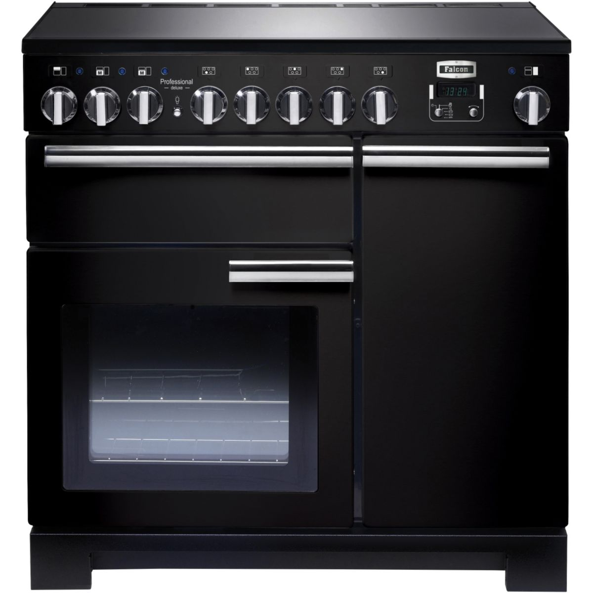 Piano de cuisson induction FALCON Pro DELUXE Induc 90 CM NOIR