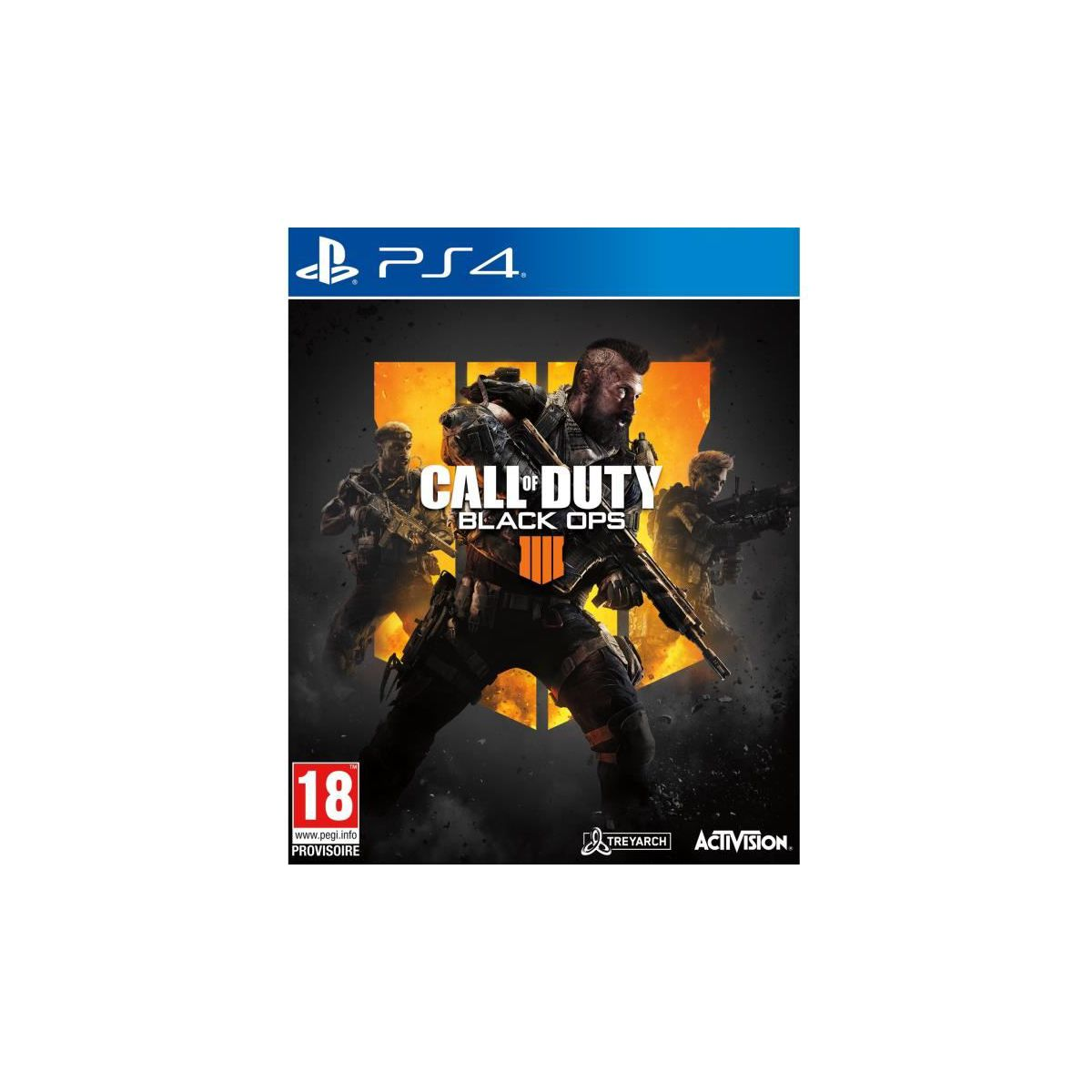 Jeu PS4 ACTIVISION Call Of Duty Black Ops 4 (photo)