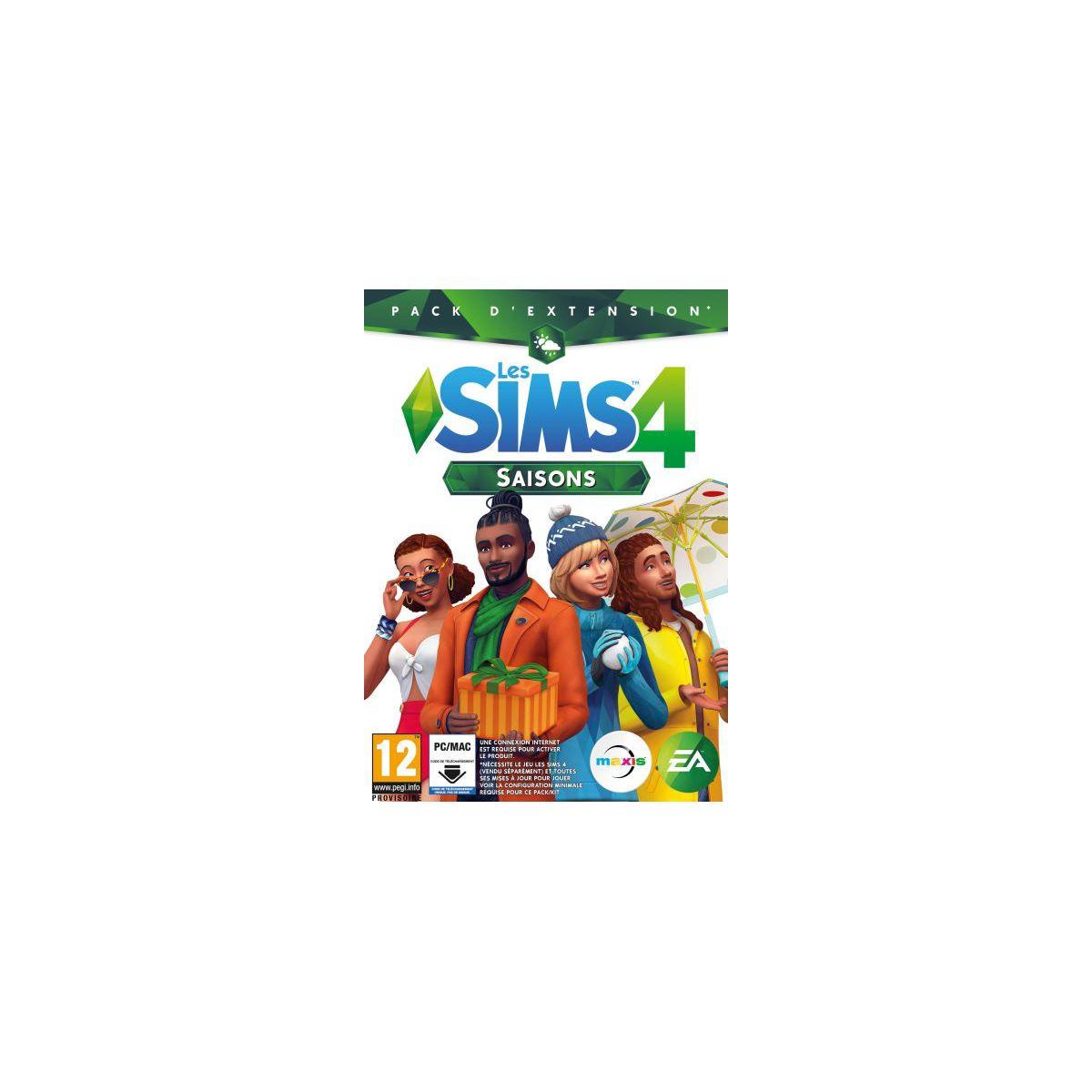 Jeu PC ELECTRONIC ARTS Les Sims 4 Saisons (photo)