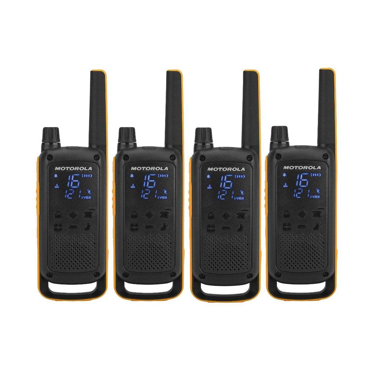 Talkie walkie MOTOROLA T82 Extreme Quadpack (photo)